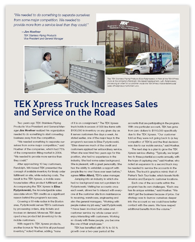 TEK Xpress Article