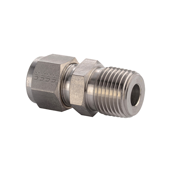 Parker male connector alok tek stainless