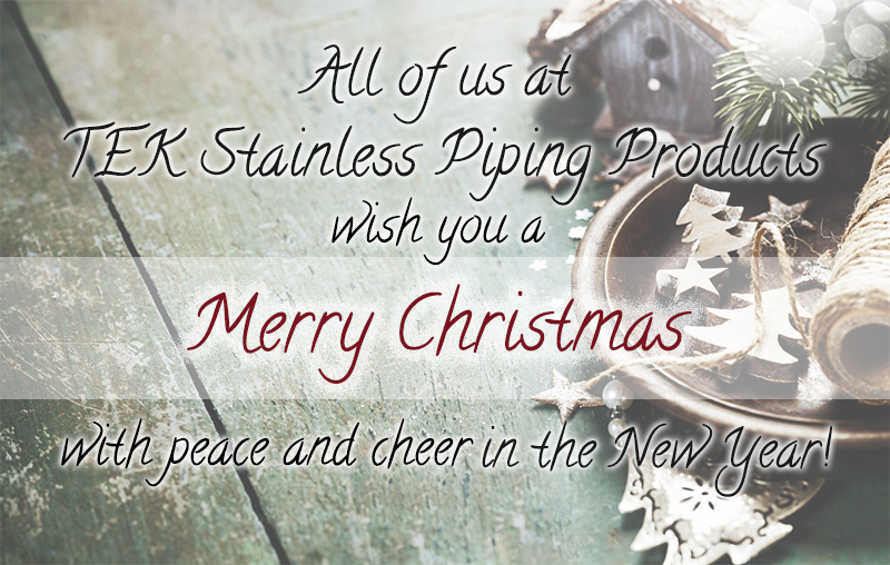 Have a Merry Christmas and Cheer in the New Year! – TEK Stainless ...